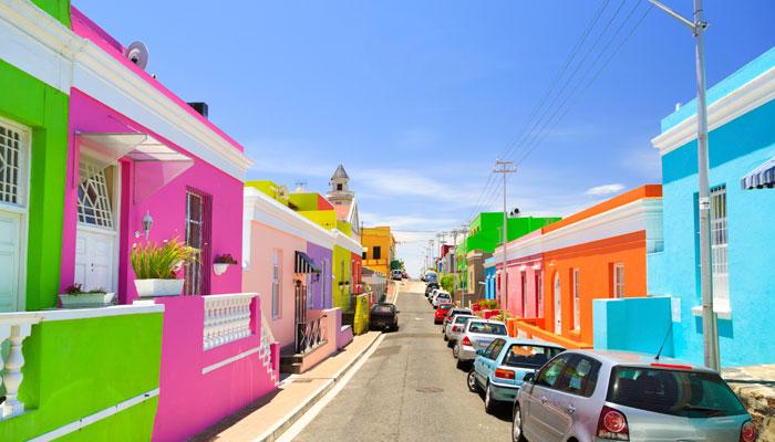 Vierlte Bo Kaap in Kapstadt