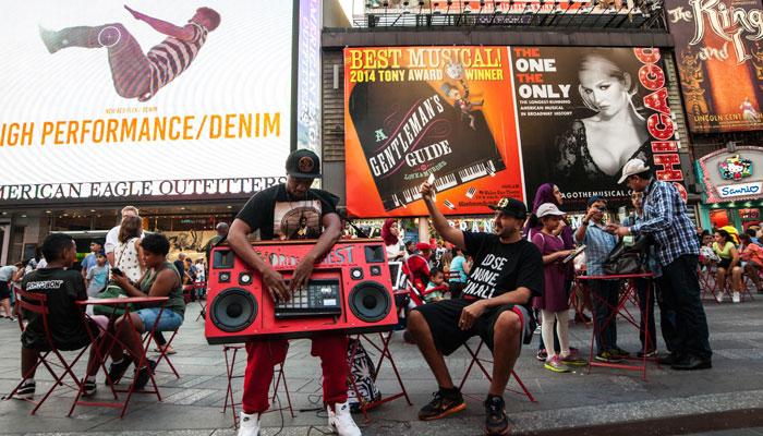 Beatboxer in New York