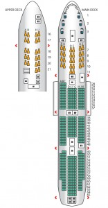 Seatplan Korean Air Boeing 747-8i