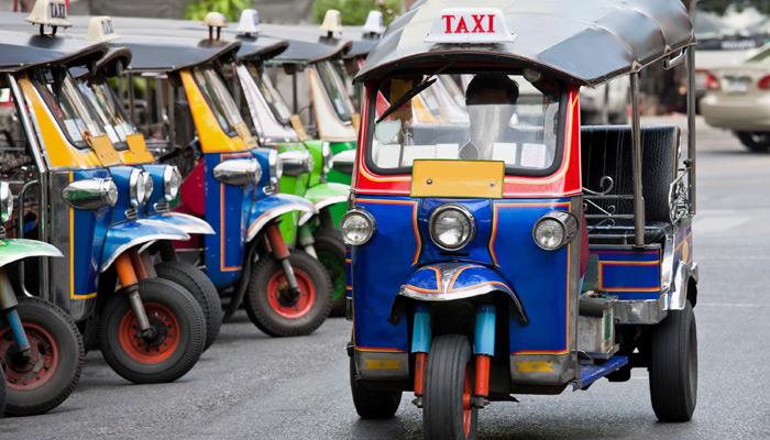 Transport innerhalb der Stadt