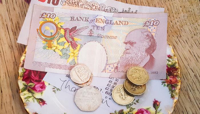 Trinkgeld Großbritannien und Irland
