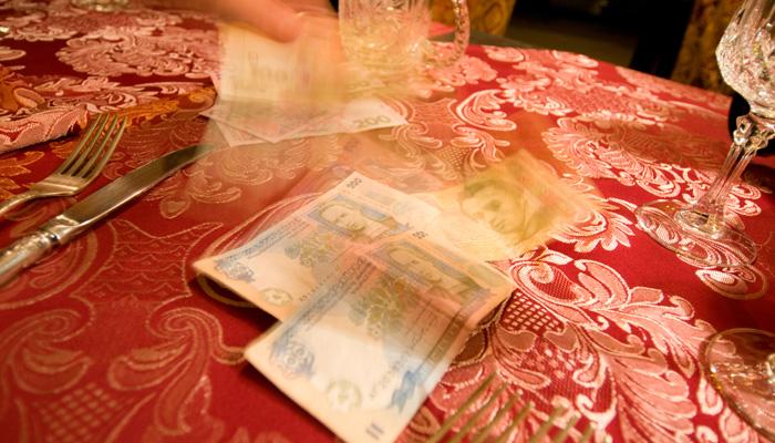 Trinkgeld Russland