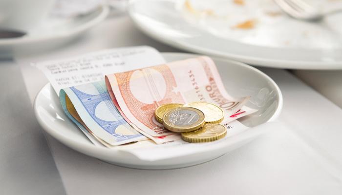 Trinkgeld Skandinavien
