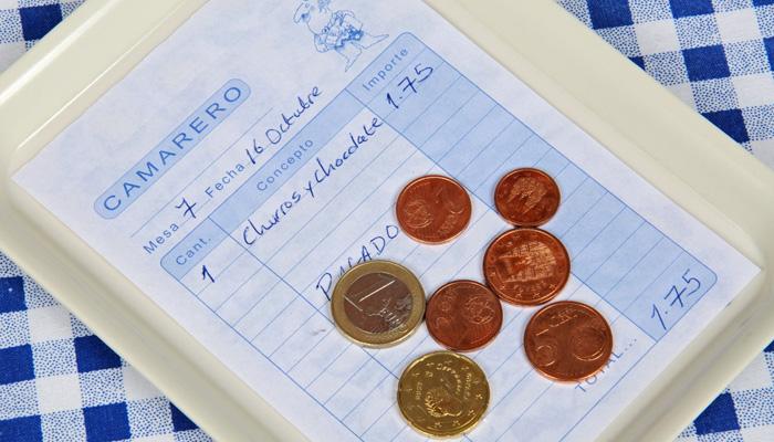 Trinkgeld Spanien