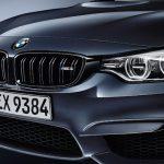 """Die Front des BMW M3 in der Sonderlackierung """"Macaoblau Metallic"""""""
