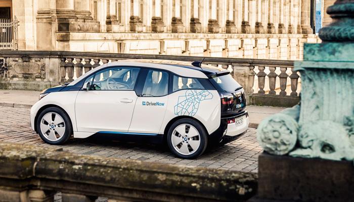 BMW i3 von Drive Now