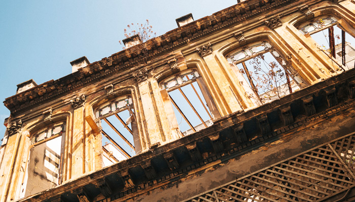 Ruinen in Havanna