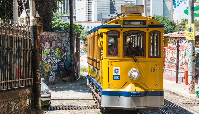 Straßenbahn in Rio. Foto: iStock