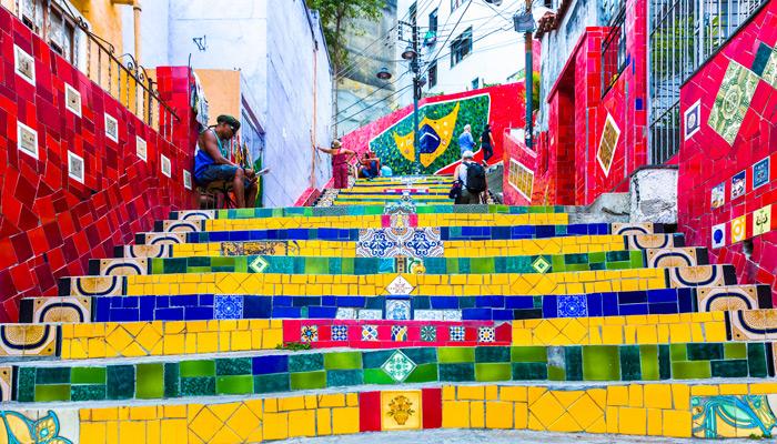 Straßenkunst in Rio. Foto: iStock