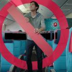 Zach King in der Turkish Airlines-Kabine