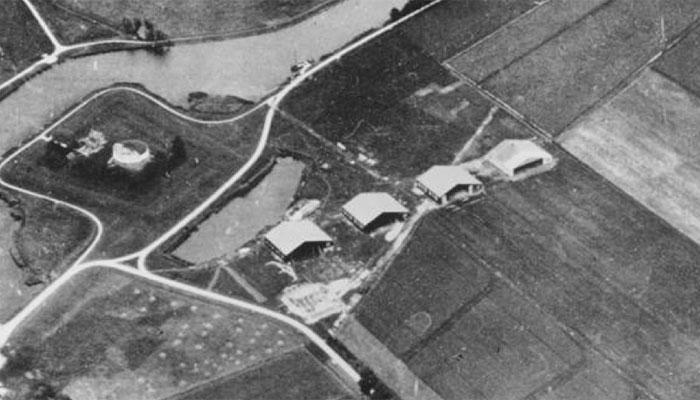 Luftaufnahme Flughafen Amsterdam Schiphol 1916