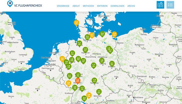 Flughäfen Deutschland Karte.Pilotengewerkschaft Cockpit Das Ist Der Unsicherste Airport