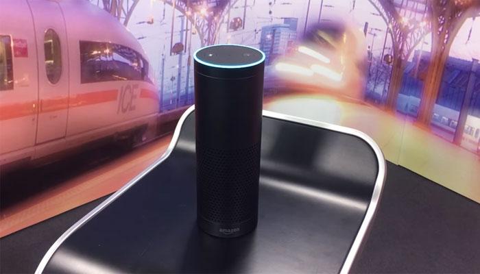 Amazon Echo im Einsatz für die Bahn