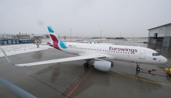 Eurowings stellt Weeze-Flüge nach Berlin nach knapp einem Jahr wieder ein. Foto: Eurowings