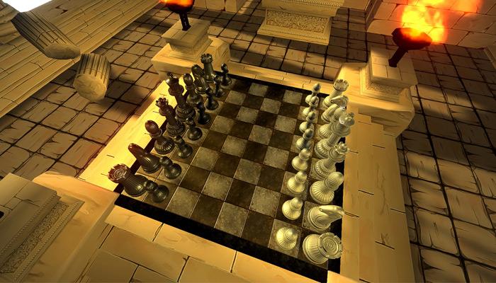 Szenenbild 3D Schach