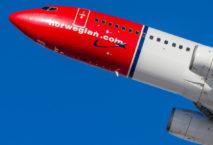 Flugzeug Norwegian