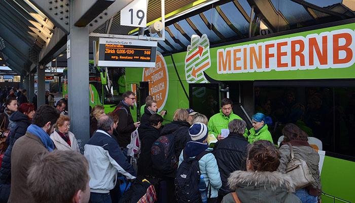 Jeder vierte Geschäftsreisende nutzt den Fernbus