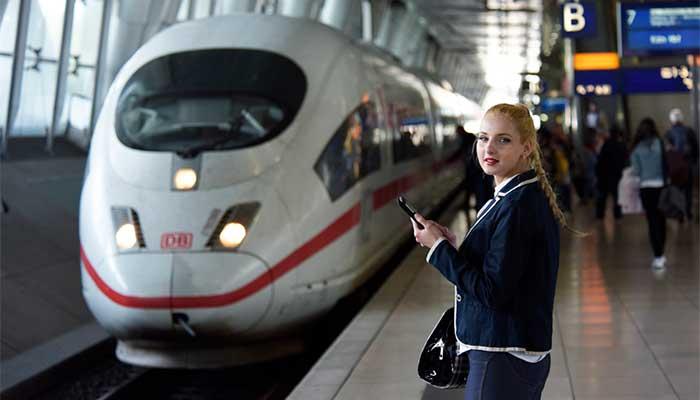 Die Bahn ist auf vielen Strecken schneller als das Flugzeug. Foto: DB