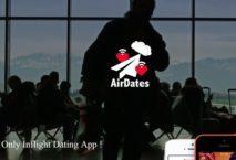 """Homepage der Dating-App """"AirDates"""""""
