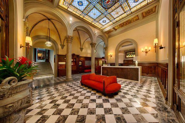 Hippe hallen die zehn spektakul rsten hotel lobbys der - Porta rossa hotel florence ...