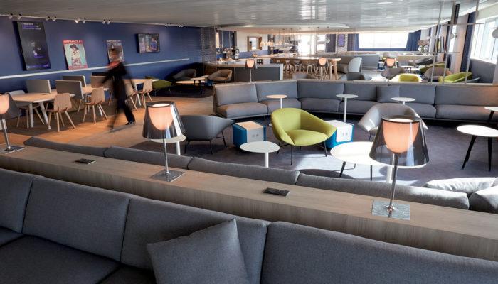 Air France Lounge in Paris-CDG, Terminal 2G