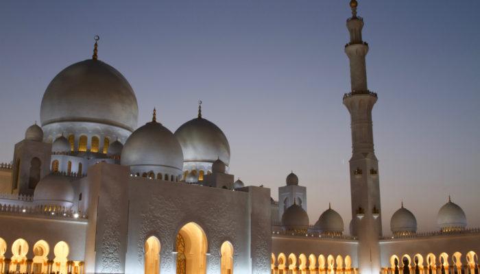 Sheikh Zayed Moschee in Abu Dhabi. Foto: Etihad Airways