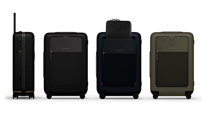 smarte koffer high tech auf vier rollen business traveller. Black Bedroom Furniture Sets. Home Design Ideas