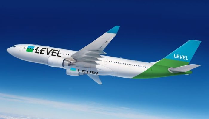 Neuer Lowcost-Carrier im Anflug. Level Airbus A330, © IAG