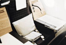 Privacey Seats in der Business Class von Swiss. Foto: Swiss