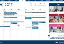 Eventkalender mit den Feiertagen und Veranstaltungen. Grafik: NH Hotel Group