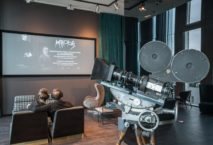 Kino in der One Lounge. Foto: Motel One