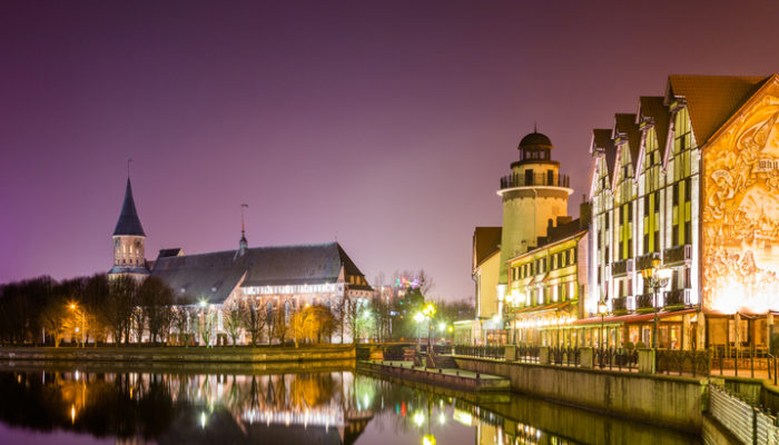 Königsberg bei Nacht. Foto: iStock