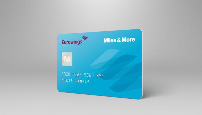 miles and more karte Eurowings bekommt eine eigene Miles & More Karte   Business Traveller