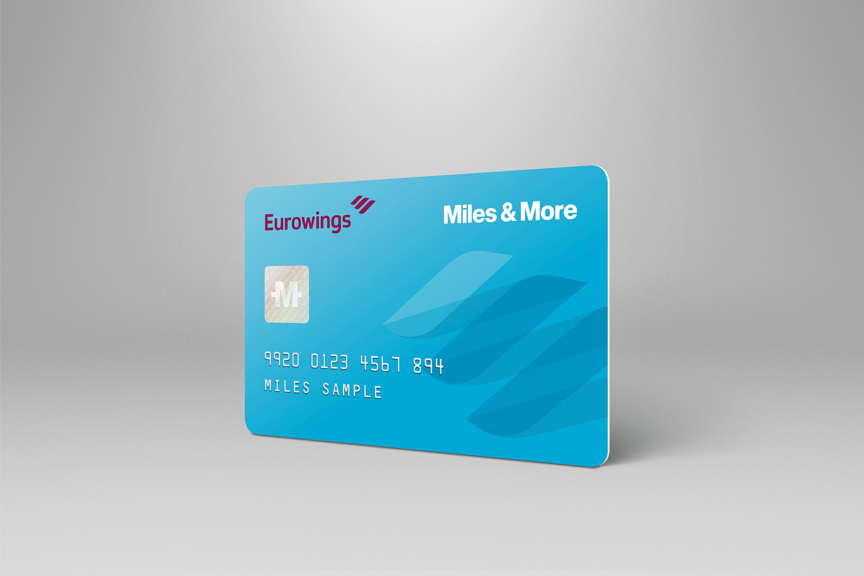miles and more karte Ab sofort gibt es eine eigene Eurowings Miles & More Karte. Foto