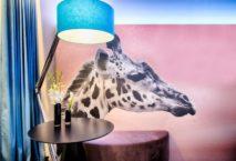 Ungewöhnliche Ausstattung: Das NYX Hotel in München. Foto: NYX Hotels