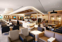 Die renovierte Lounge von American Airlines am Flughafen New York-JFK. Foto: American Airlines