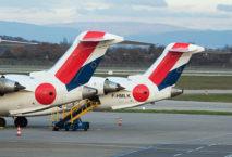 Hop! Air France fliegt mit Bombardier CRJ 1000 von Hamburg nach Nantes. Foto: Air France