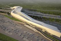 """Das """"Tor des Südens"""" eröffnet am 11. Juni. Foto: Zaha Hadid Architects"""