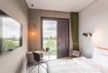 Urban Lifestyle Economy im Gambino Hotel Cincinnati in München. Foto: Nieder + Marx Design