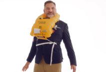 David Walliams im Safety Video von British Airways