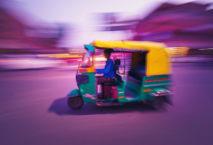 Indische Auto-Rikscha