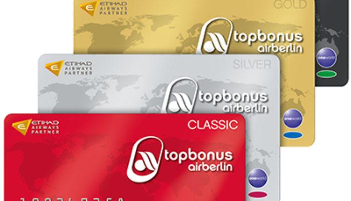Topbonus-Kunden können wieder Meilen bei Etihad einlösen. Foto: Air Berlin