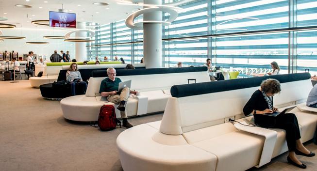 tap portugal er ffnet neue premium lounge in lissabon. Black Bedroom Furniture Sets. Home Design Ideas