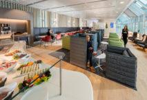 Transparent und großzügig: Die neue Airport Lounge Europe am Flughafen München. Foto: Flughafen München