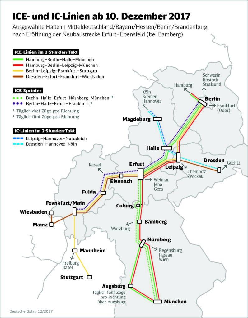 Bahn Eröffnet Schnellstrecke München Berlin Business
