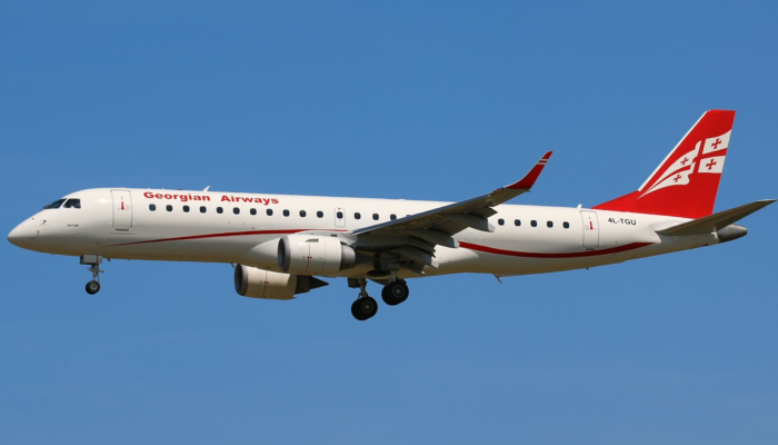Georgian Airways setzt Embraer 190 nach Deutschland ein. Foto: Georgian Airways