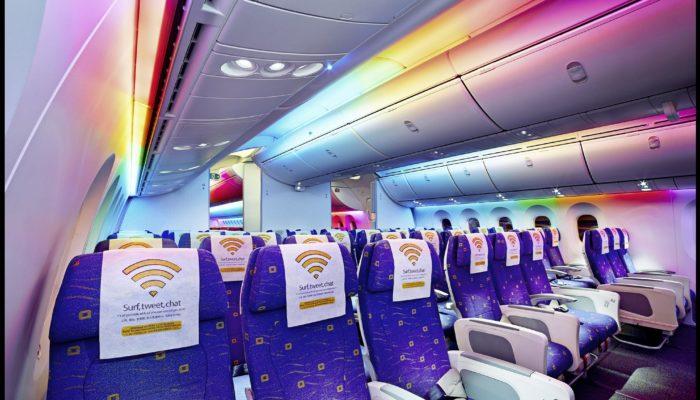 Die Economy Class im Dreamliner von Scoot. Foto: Scoot