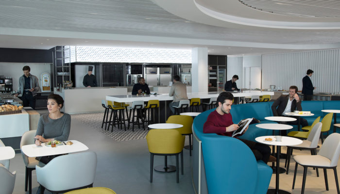 Die neue Air France-Lounge am Flughafen Paris-Charles de Gaulle. Foto: Air France