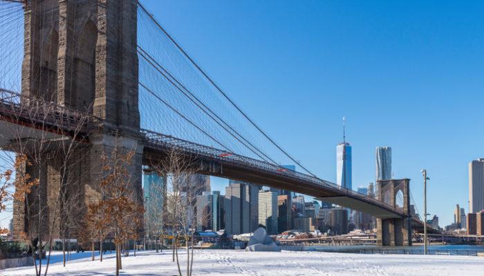 Kälterekord in New York. Foto: iStock