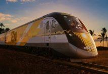 Der neue Hochgeschwindigkeitszug in Florda startet am 8. Januar 2018. Foto: Brightline